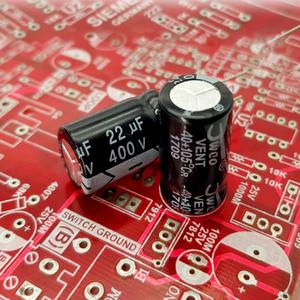 خازن الکترولیت 22uF-400V