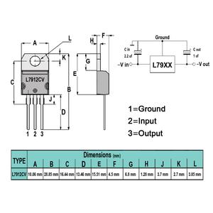 IC L7912CV
