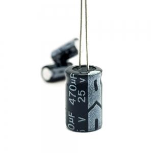 خازن الکترولیت 470uF-25V