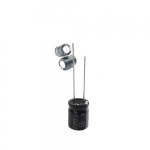 خازن الکترولیت 220uF-50V