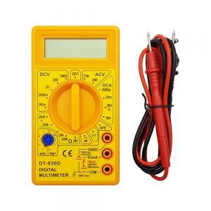 مولتی متر دیجیتال DT-830BD زرد
