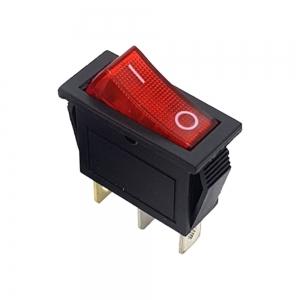 کلید راکر باریک چراغدار KCD3-101N