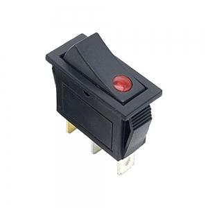 کلید راکر باریک یکطرف چراغدار KCD3-301N