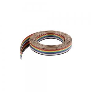 فلت کابل رنگی 10 رشته