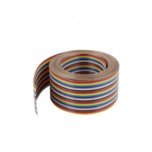 فلت کابل رنگی 34 رشته