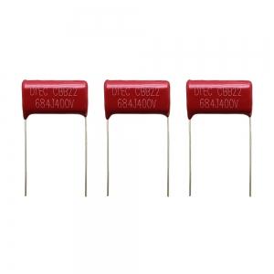خازن پلیستر (684) 680nF-400V