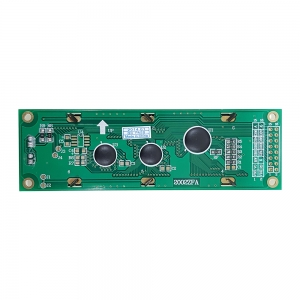 LCD کاراکتری 2x20 با بک لایت سبز