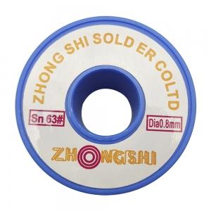 سیم قلع ZHONGSHI 63/37 0.8m 50gr