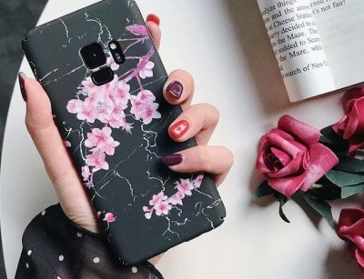 قاب طرح دار 360 درجه  Flowery Case Samsung Galaxy note 9