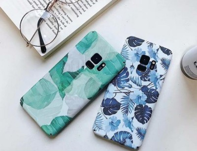 قاب طرح گل 360 درجه Flowery Case Samsung Galaxy S9 plus