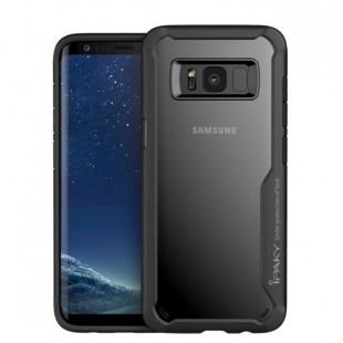 قاب گوشی IPAKY پشت شفاف samsung galaxy S8 plus