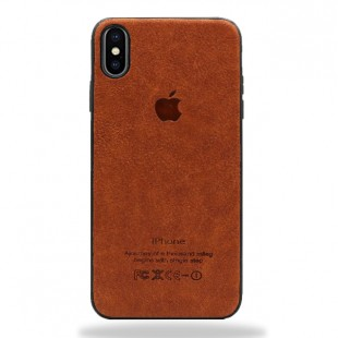 قاب چرمی ایفون apple iphone xs  برند polo