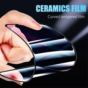 گلس سراميكى ceramics glass xiaomi Redmi Note 8 Pro نانو تمام صفحه و تمام چسب