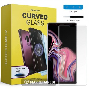 محافظ صفحه نمایش UV مات UV Tempered Glass Matte Samsung Galaxy note 8