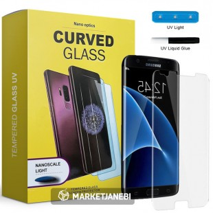 محافظ صفحه نمایش UV مات UV Tempered Glass Matte Samsung Galaxy s7 edge