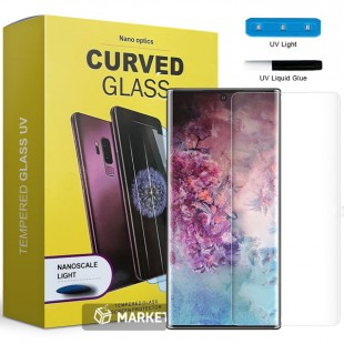 محافظ صفحه نمایش UV مات UV Tempered Glass Matte Samsung Galaxy note 10 plus