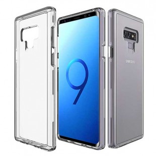 قاب گوشی شفاف clear case samsung galaxy note9 بی رنگ پشت طلق