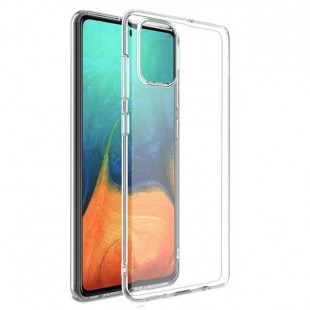 قاب گوشی شفاف clear case Samsung Galaxy A51 بی رنگ پشت طلق