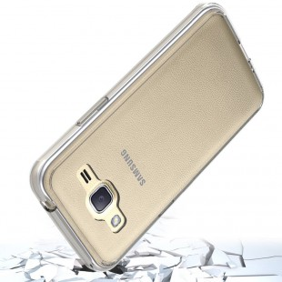 قاب گوشی شفاف clear case samsung galaxy j2 prime بی رنگ پشت طلق