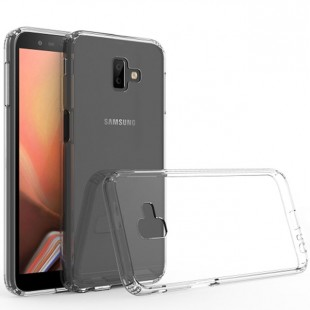 قاب گوشی شفاف clear case samsung galaxy j6 plus پشت طلق