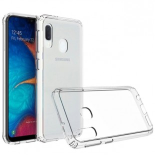 قاب گوشی شفاف clear case samsung A40 / A20E بی رنگ