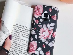 قاب طرح دار 360 درجه  Flowery Case Samsung Galaxy s9 plus