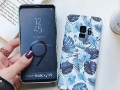 قاب طرح گل 360 درجه  Flowery Case Samsung Galaxy note9