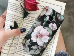 قاب طرح دار گل  Damask rose Case samsung galaxy S9