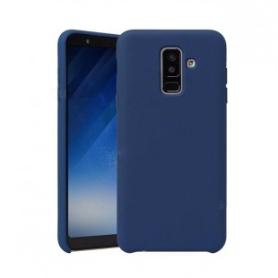 قاب گوشی سیلیکونی silicone case samsung galaxy A6 plus