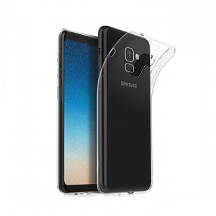 قاب گوشی شفاف clear case samsung galaxy A8 / A8 plus 2018