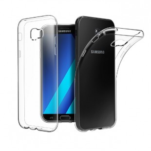 قاب گوشی شفاف clear case samsung galaxy A5 2017 بی رنگ