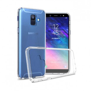قاب گوشی شفاف clear case samsung galaxy A6 بی رنگ