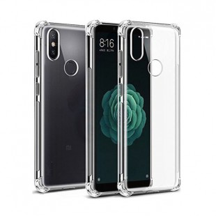 قاب گوشی شفاف clear case xiaomi note6/ note6 pro بی رنگ