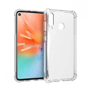قاب گوشی شفاف clear case samsung galaxy A60 بی رنگ