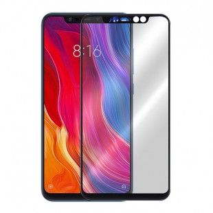 گلس شیائومی full glue glass xiaomi mi 8pro تمام صفحه و تمام چسب