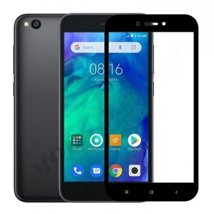گلس شیائومی full glue glass xiaomi redmi go تمام صفحه و تمام چسب