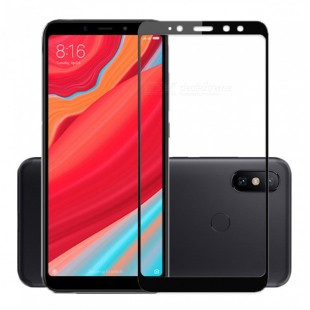 گلس شیائومی full glue glass xiaomi redmi s2 تمام صفحه و تمام چسب