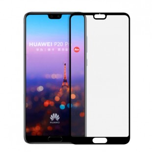 گلس هواوی full glue glass huawei p20 تمام صفحه و تمام چسب