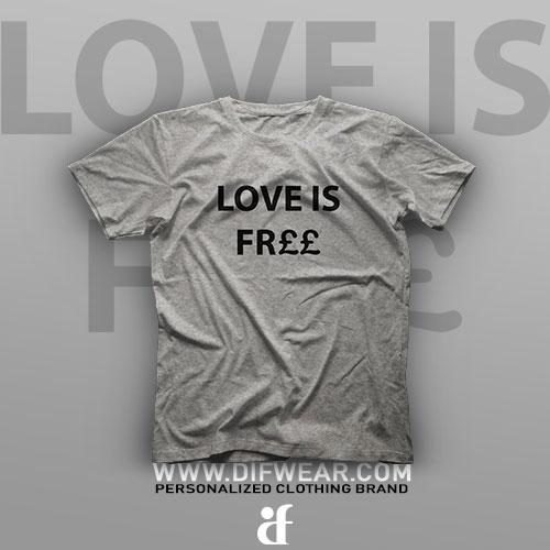 تیشرت Love is Free