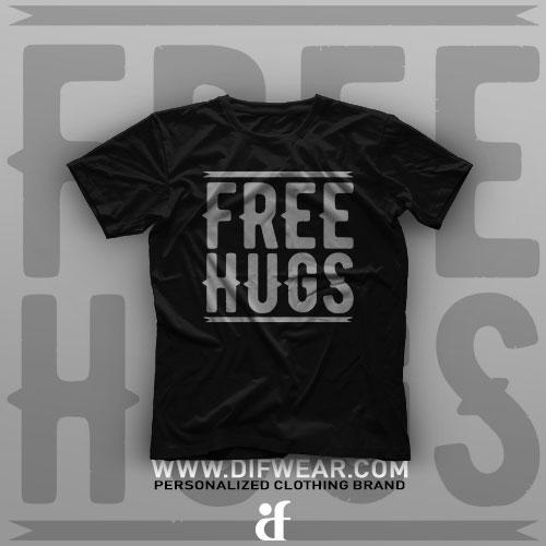 تیشرت Free Hugs #1
