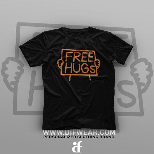 تیشرت Free Hugs #4