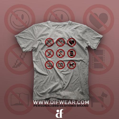 تیشرت Prohibited #1