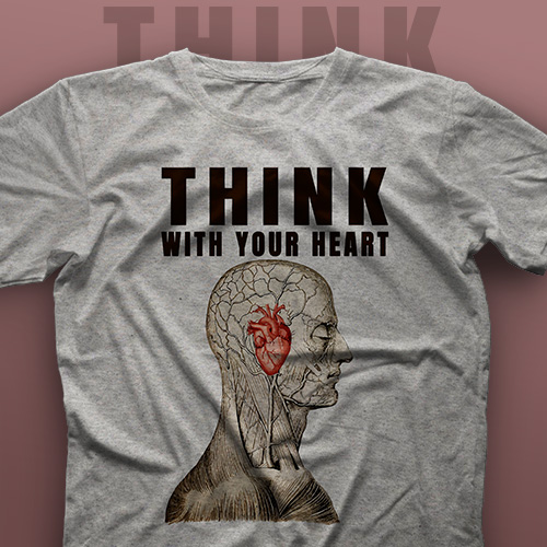 تیشرت Think With Your Heart #1