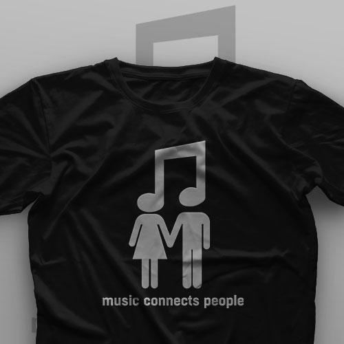 تیشرت Music Connects People #1