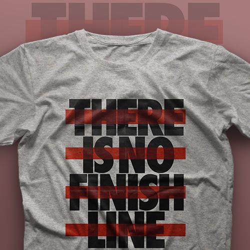 تیشرت There Is No Finish Line