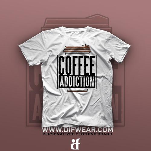 تیشرت Coffee Addiction