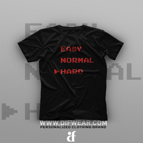 تیشرت Easy, Normal, Hard #1