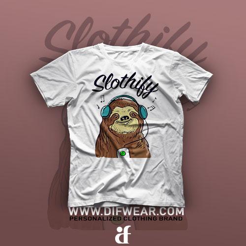 تیشرت Slothily