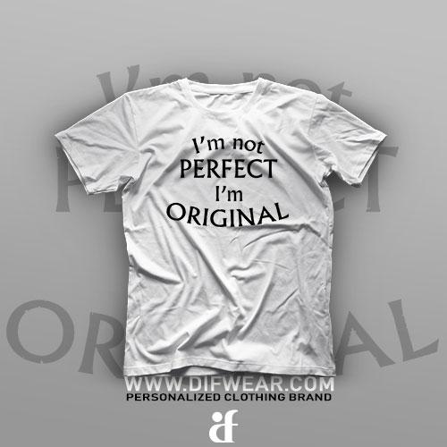 تیشرت I'm Not Perfect #2