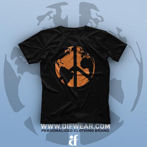 تیشرت World Of Peace #1